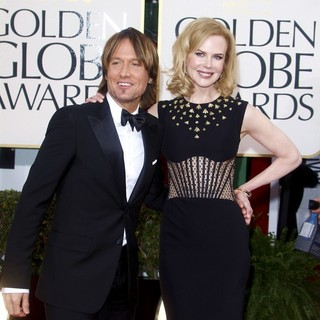 Keith Urban, Nicole Kidman in 70th Annual Golden Globe Awards - Arrivals