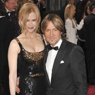 Nicole Kidman, Keith Urban in The 85th Annual Oscars - Red Carpet Arrivals
