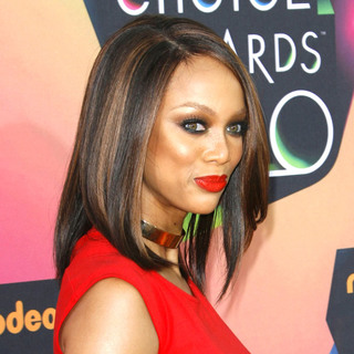 Tyra Banks in Nickelodeon's 23rd Annual Kids' Choice Awards - Arrivals