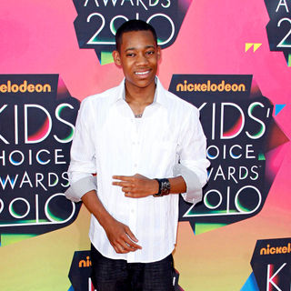 Tyler James Williams in Nickelodeon's 23rd Annual Kids' Choice Awards - Arrivals