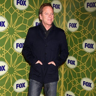 Kiefer Sutherland in Fox 2012 All Star Winter Party - Arrivals