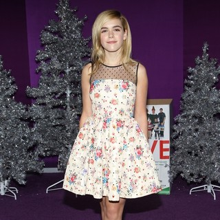 Kiernan Shipka in Open Road Films Justin Bieber's Believe Memoir and Concert Film Presented by Teen Vogue
