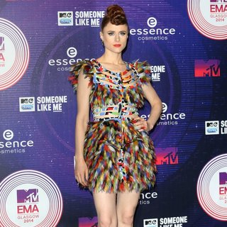 Kiesza in MTV Europe Music Awards 2014 - Arrivals