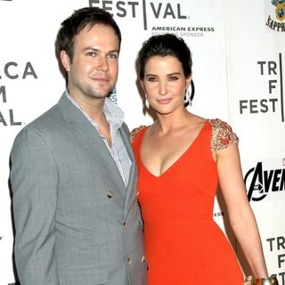 Taran Killam, Cobie Smulders in Marvel's The Avengers Premiere During The Closing Night of The 2012 Tribeca Film Festival - Arrivals