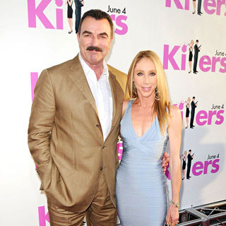 Tom Selleck, Jillie Mack in Los Angeles Premiere of 'Killers' - Arrivals