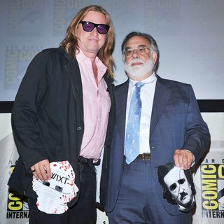 Val Kilmer, Francis Ford Coppola in Comic Con 2011 - Celebrities at The Convention Centre - The Twixt Panel
