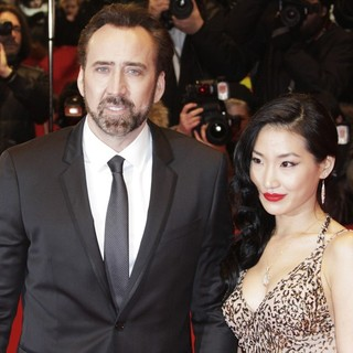 Nicolas Cage, Alice Kim in The 63rd Berlin International Film Festival - Premiere The Croods