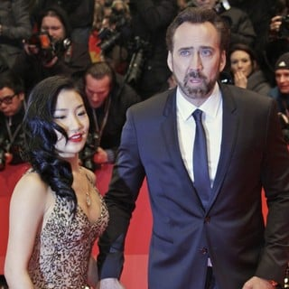 Alice Kim, Nicolas Cage in The 63rd Berlin International Film Festival - Premiere The Croods