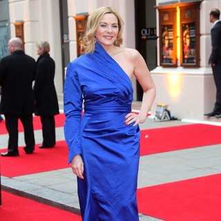Kim Cattrall in The Olivier Awards 2013 - Arrivals