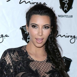 Kim Kardashian in 1 Oak Nightclub New Year's Eve Party