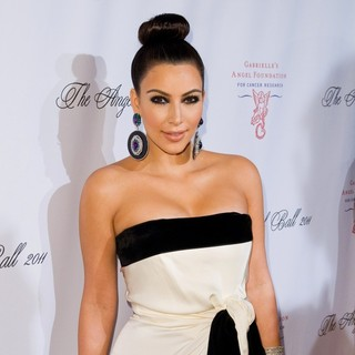 Kim Kardashian in 2011 Angel Ball to Benefit Gabrielle's Angel Foundation