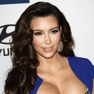 Kim Kardashian - Clive Davis And The Recording Academy's 2012 Pre-GRAMMY Gala