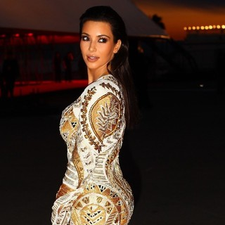 Kim Kardashian in Cruel Summer Premiere - During The 65th Cannes Film Festival - Arrivals