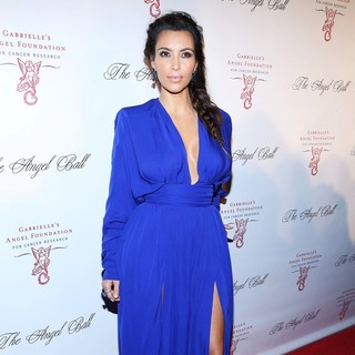 Kim Kardashian in The Angel Ball 2012