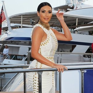 Kim Kardashian - MailOnline's Yacht Party During Cannes Lions 2014 - Arrivals