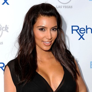 Kim Kardashian in Kim Kardashian Hosts Hard Rock Hotel's Hottest Party Rehab Sundays