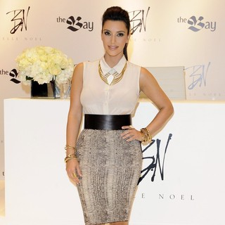 Kim Kardashian in The Launch of Belle Noel