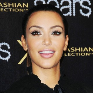 Kim Kardashian in The One Year Anniversary of The Kardashian Kollection