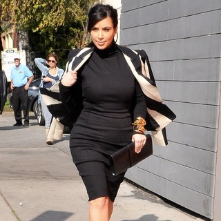 Kim Kardashian in Kim Kardashian Seen Out and About