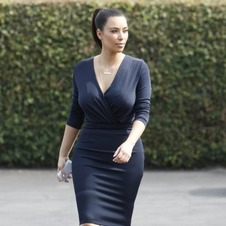 Kim Kardashian in Kim Kardashian Head Out to Lunch