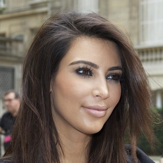 Kim Kardashian in Paris Fashion Week Fall-Winter 2013 - Valentino - Departures