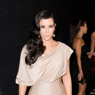 Kim Kardashian in Colin Cowie and Jason Binn Host Welcome to New York Party for Kim Kardashian and Kris Humphries