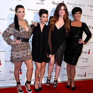 Kourtney Kardashian in The Grand Opening of The Kardashian Khaos - kim-kourtney-khloe-kris-grand-opening-kardashian-khaos-01