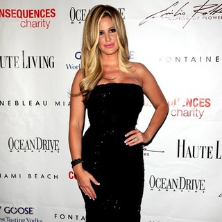 Kim Zolciak in The 15th Annual Blacks' Charity Gala