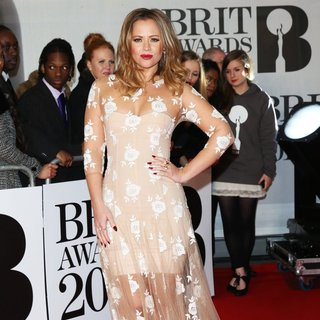 Kimberley Walsh in The Brit Awards 2014 - Arrivals