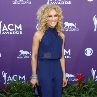 Kimberly Schlapman, Little Big Town in 48th Annual ACM Awards - Arrivals