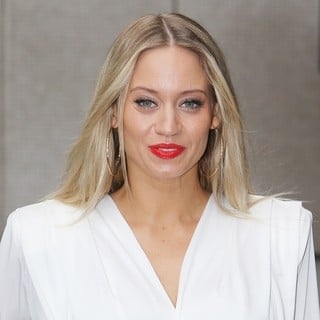 Kimberly Wyatt Outside The ITV Studios