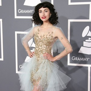 Kimbra in 55th Annual GRAMMY Awards - Arrivals