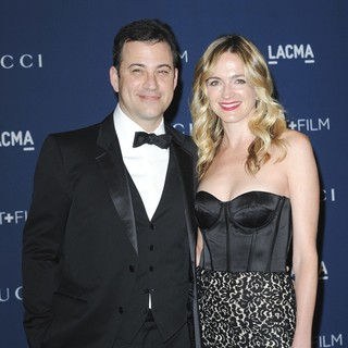 Jimmy Kimmel, Molly McNearney in LACMA 2013 Art and Film Gala Honoring Martin Scorsese and David Hockney Presented by Gucci