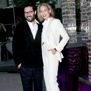 Adam Kimmel, Leelee Sobieski in The 2011 CFDA Fashion Awards - Inside Cocktails