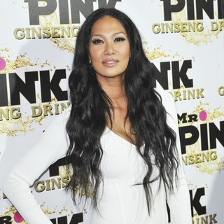 Kimora Lee Simmons - Mr. Pink's Ginseng Energy Drink Launch - Arrivals