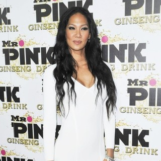 Kimora Lee Simmons in Mr. Pink's Ginseng Energy Drink Launch - Arrivals