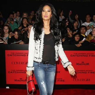 Kimora Lee Simmons in The Hunger Games: Catching Fire Premiere