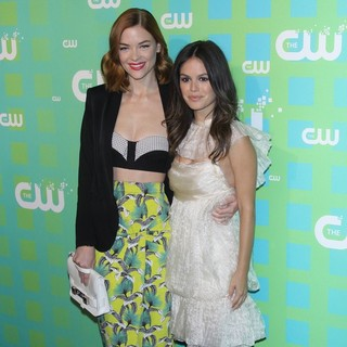 Jaime King, Rachel Bilson in 2012 The CW Upfront Presentation