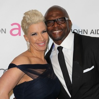 Rebecca King, Terry Crews in 21st Annual Elton John AIDS Foundation's Oscar Viewing Party