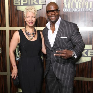 Rebecca King, Terry Crews in Spike TV's Eddie Murphy: One Night Only