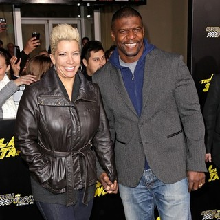 Rebecca King, Terry Crews in The World Premiere of The Last Stand