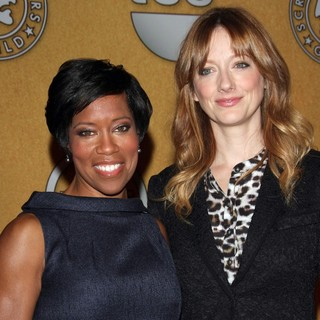 Regina King, Judy Greer in The 18th Annual Screen Actors Guild Awards Nominations Announcement
