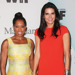 Regina King, Angie Harmon in Women in Film 2015 Crystal + Lucy Awards