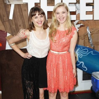 Joey King, Sierra McCormick in Los Angeles Premiere of This Is the End