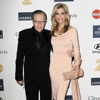 Larry King, Shawn Southwick in Clive Davis and The Recording Academy's 2013 Pre-Grammy Gala and Salute to Industry Icons