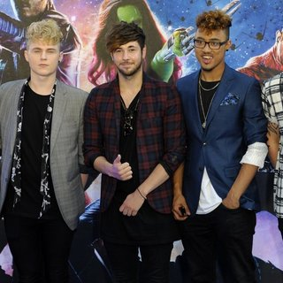 Kingsland Road in UK Premiere of Guardians of the Galaxy - Arrivals