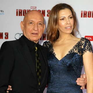 Ben Kingsley, Daniela Lavender in Iron Man 3 Los Angeles Premiere - Arrivals