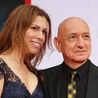 Daniela Lavender, Ben Kingsley in Iron Man 3 Los Angeles Premiere - Arrivals