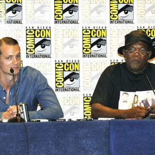 Joel Kinnaman, Samuel L. Jackson in Comic-Con International 2013 -Robocop - Press Conference