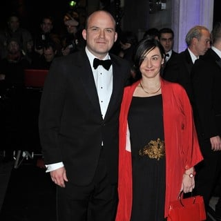 Rory Kinnear, Pandora Colin in London Evening Standard Theatre Awards - Arrivals